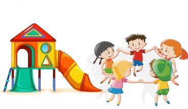 وکتور رنگی مهد کودک