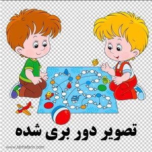 وکتور بازی کودک