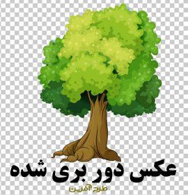 عکس درخت نقاشی