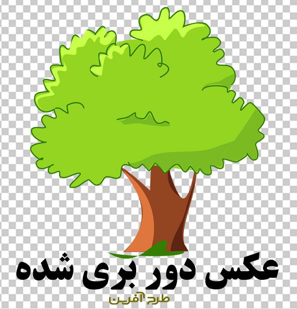 دانلود وکتور PNG درخت