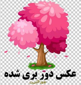 طرح وکتور درخت